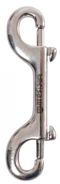 Mares Double Ender Doppel Karabiner Edelstahl 12,0 cm