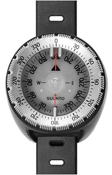 Suunto NH SK-8 Armband Tauchkompass Phosphoreszierend