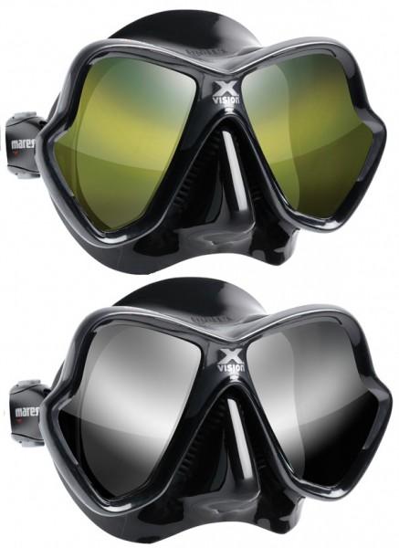 Mares X-Vision Ultra LiquidSkin getönten Gläsern Tauchermaske