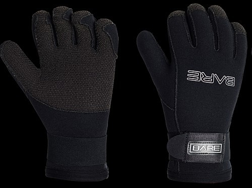 Bare 5mm Guantlat Kevlar 5 Finger Tauchhandschuh Neopren Taucher Handschuh