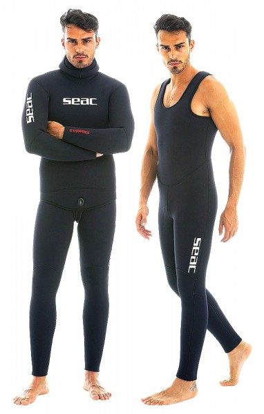 Seac Sub Riese 8,5mm Neopren Tauchanzug Taucher Anzug