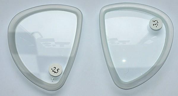 Beuchat optische Gläser Glas X-Contact 2 Mini Korrektur Glas