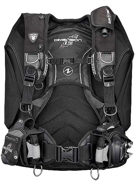 Aqualung Dimension i3 Wing Jacket Tarierjacket Tauchjacket Taucher Jacket