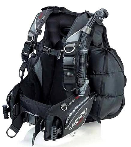 Cressi Back Jac Tarierjacket Tauch Jacket integrierte Bleitasche