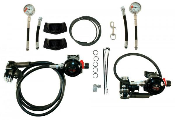 Beuchat Sidemount Pack VX10 Atemregler Kaltwasser Regler