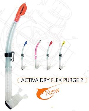 Schnorchel Taucherschnorchel Beuchat Activa Dry Flex Purge 2