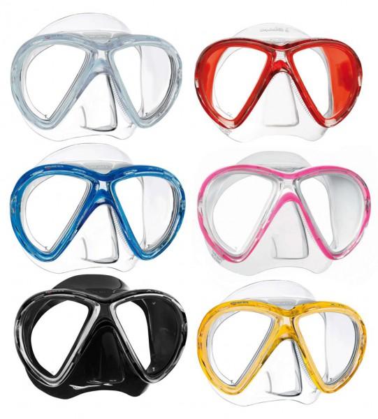 Mares X-VU Taucherbrille Taucher Maske optische Linsen