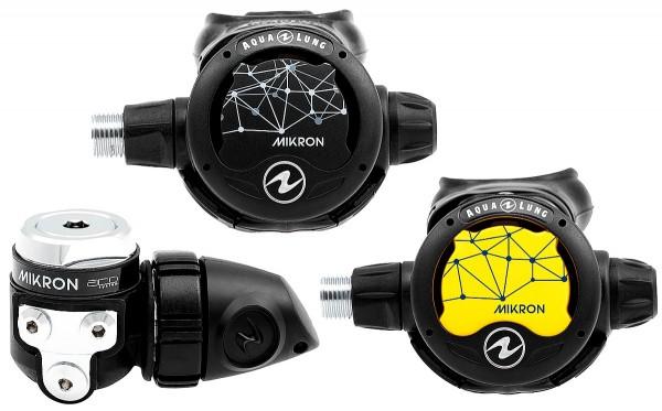 Aqualung Mikron Atemregler Set Reise Atemregler Octopus Mikron neues Modell