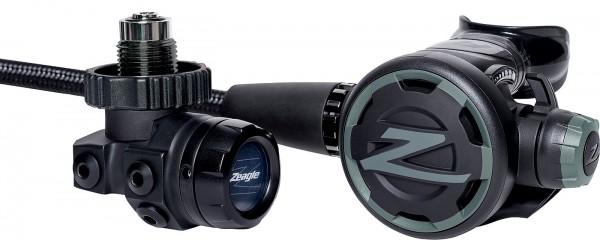 Zeagle F8 Regulator Atemregler DIN Anschluss Kaltwasser Regler