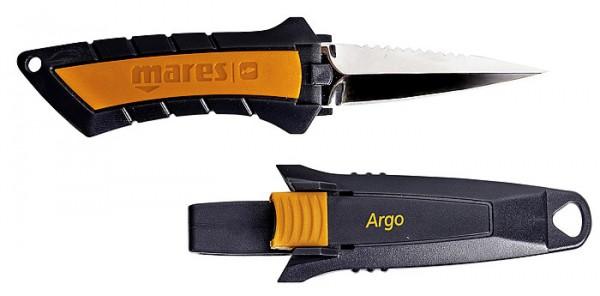 Mares Argo Taucher Messer kleines Tauchmesser Edelstahl Klinge
