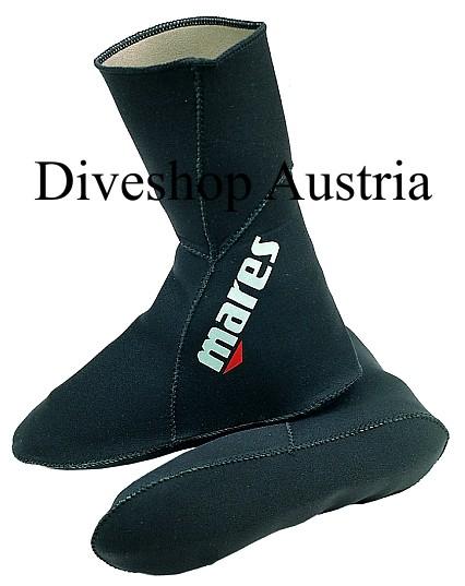 Mares Neoprensocken Classic 3 mm Neopren Taucher Apnoe Socken