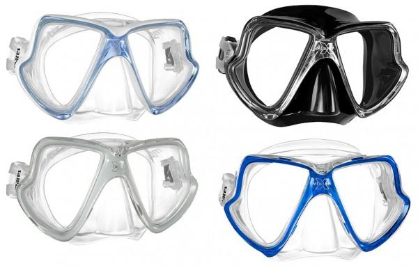 Mares X-Vision MID Taucherbrille Tauchermaske Optisches Glas