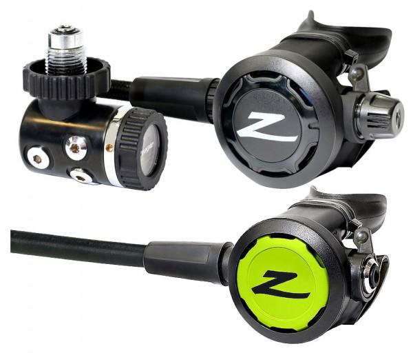 Zeagle Onyx II Atemregler Set Membran gesteuert Kaltwasser Regle