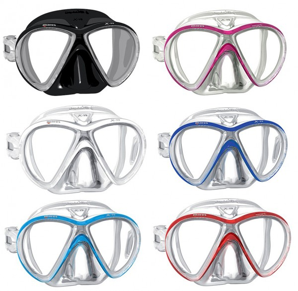 Mares X-VU Liquidskin Sunrise Tauchermaske Taucher Brille