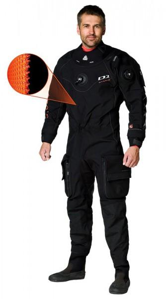 Waterproof D1 HYBRID ISS Trockentauchanzug 3D-Mesh