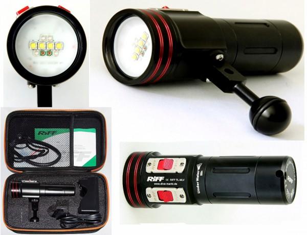 Video Lampe Riff TL-MLV 2 Multi Video Licht Unterwasser Foto Lampe Licht