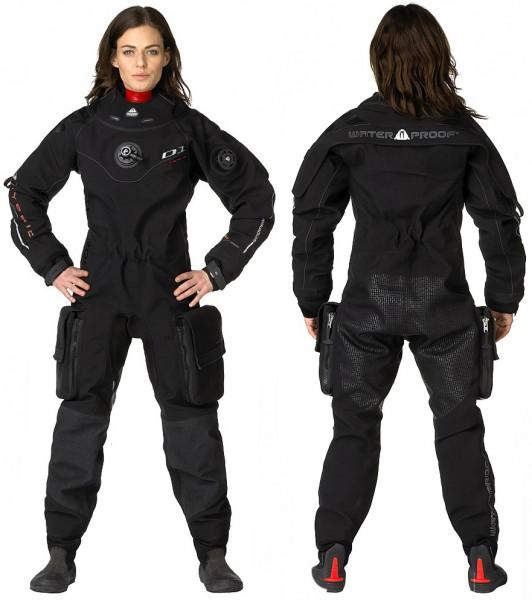 Waterproof D1 HYBRID ISS Damen Trockentauchanzug 3D-Mesh