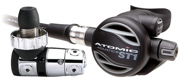 Atomic Aquatics ST1 Edelstahl Atemregler Titan Kaltwasserregler