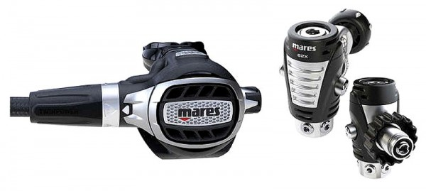 Mares ULTRA ADJ 82X Atemregler Taucher Regler DIN oder INT