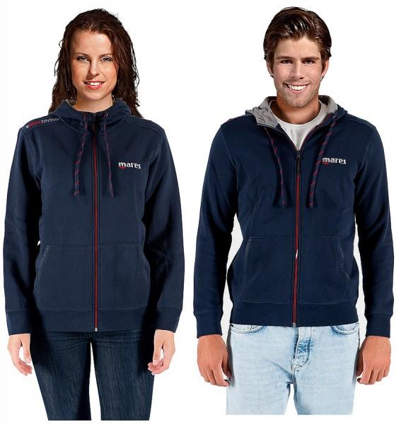 Mares Hooded Sweater Jacke mit Kapuze Kapuzenjacke Freizeit Sport Jacke