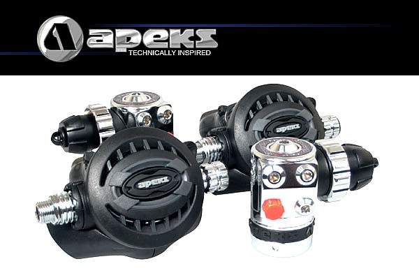 Apeks TEK3 Atemregler Set