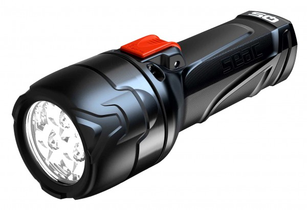 Seac Sub Q5 Taucher Lampe mit Batterien Tauchlampe