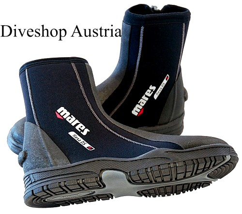 Mares Flexa DS 6,5mm Füssling Tauchschuh Taucher Schuh fester dicker Gummi Sohle