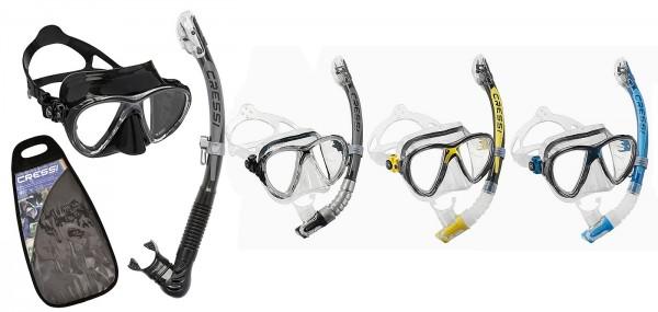 Cressi Big Eyes Evolution Tauchmaske Maske alpha ultra dry Schnorchel Set