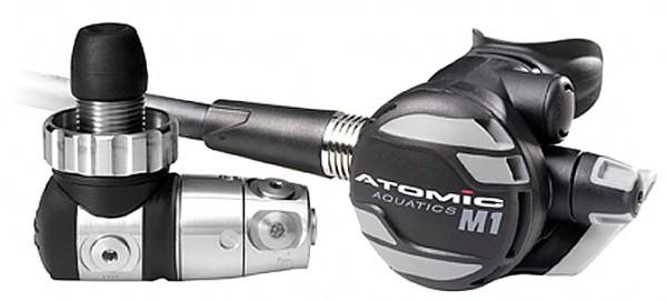 Atomic M1 Monel Atemregler Kaltwasserregler Nitrox 100% O2