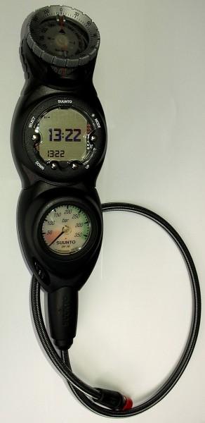 Suunto 3er Konsole Zoop Novo Tauchcomputer Finimeter CB1 Kompass SK8