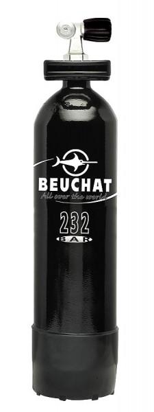 Beuchat 6 Liter TauchflascheTaucher Flasche Pressluftflasche Stahlflasche 1,4m³ Monoventil