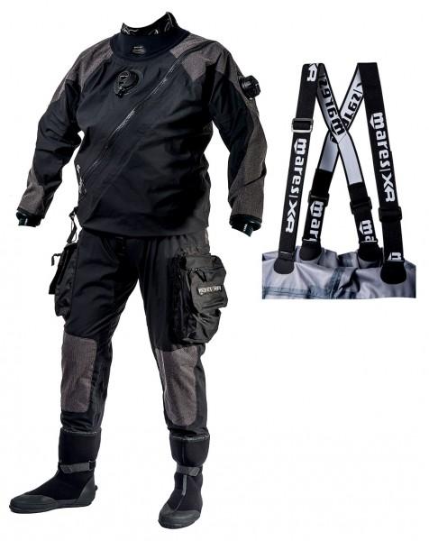 Mares XR1 AQS Trockentauchanzug Latex Manschetten Trocken Taucher Anzug