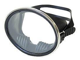 Beuchat Super Compensator Tauchermaske Taucherbrille Taucher tauchen Einglas Maske schwarzer