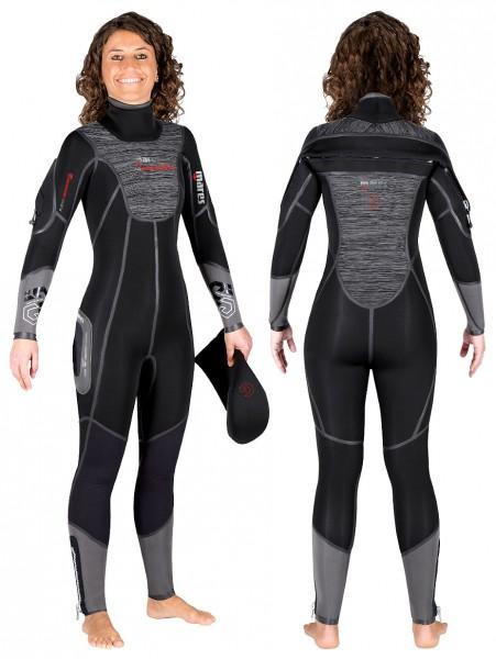 Mares Flexa Graphene 7 mm 7mm Neopren Damen Tauchanzug Taucher Anzug Halbtrocken Semy Dry Tauchen