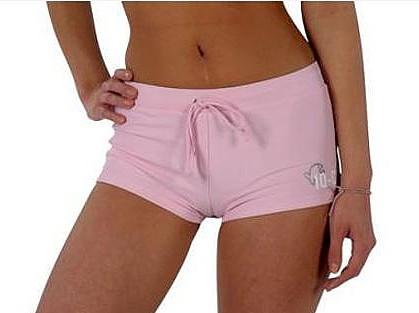 Hot Pants iQ-Company rosa UV Schutz 50+ Bade Hose Damen Frauen Sonneschutz