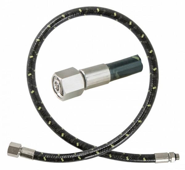 Polaris Miflex XT Tech 100 cm MD Mitteldruckschlauch 3/8 Anschluss Atemregler tauchen zweite Stufe