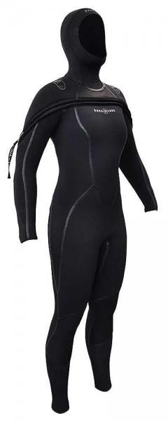 Aqua Lung Aqualung Sola FX Solafx 8/7 mm Damen Frauen Neopren Tauchanzug Taucher Anzug tauchen