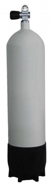 Polaris ECS Tauchflasche 15 Liter Stahlflasche 232 Bar Mono Ventil Monoventil Taucher Flasche