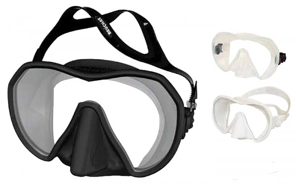 Beuchat MaxLux Taucherbrille breites grosses Sichtfeld Tauchmaske Brille Taucher Maske tauchen