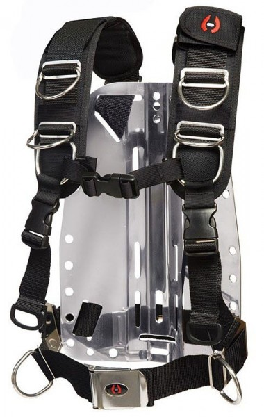 Hollis Elite 2 verstellbare Begurtung Harness System TECH TEK Taucher Gurt