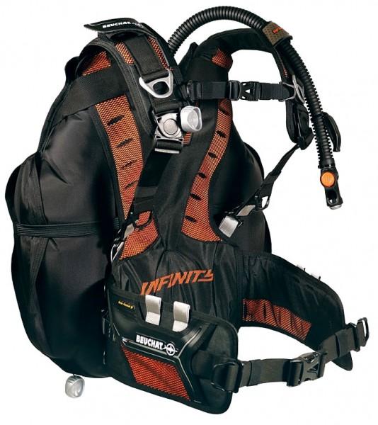 Beuchat Infinity Wing Travel Tarierjacket Reise Taucher Tarier Jacket Weste Tauchen