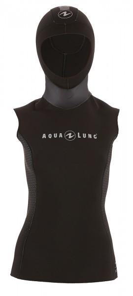 Aqualung Hooded vest Unterzieher mit Kopfhaube 3mm stretch Neopren Damen Frauen Taucher tauchen