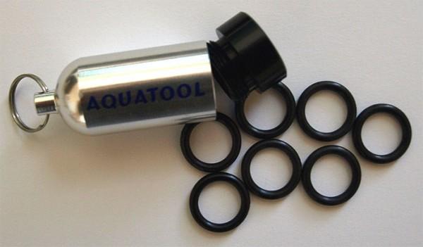 Aquatool O-Ringe Atemregler Tauchflaschen O Ringe Dichtungsringe Taucher Schlüssel Anhänger