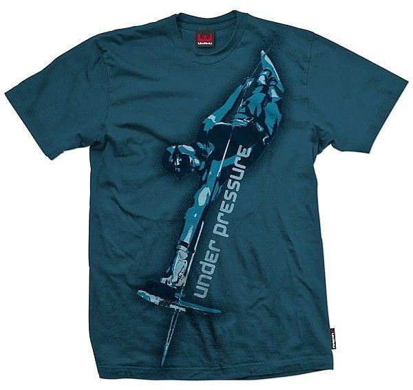 Taucher T-Shirt under preasure Apnoe Shirt 100% Baumwolle Uwahu XL