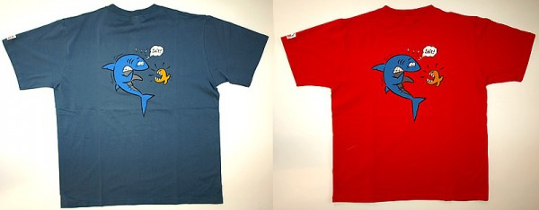 T-Shirt Shark 2 IQ – Company Comic 100% Baumwolle günstig Taucher Leibchen
