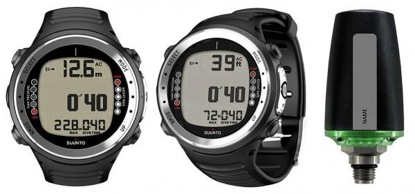 Suunto D4i black Tauchcomputer Armband Taucher Uhr Computer inkl. Sender Transmitter