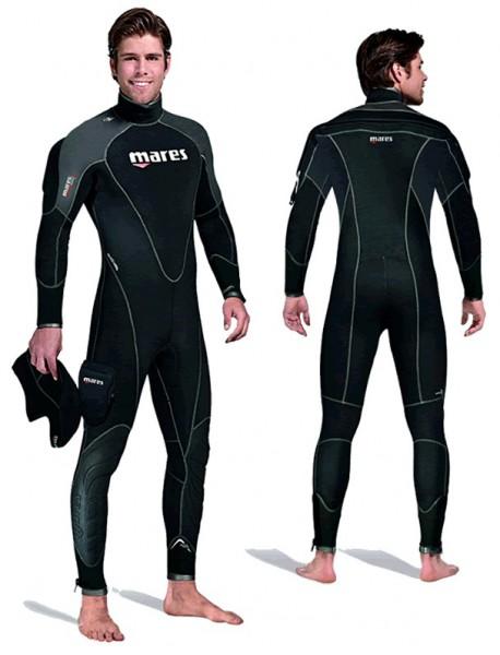 Mares Flexa Therm Semi dry Halbtrocken Tauchanzug Taucher Anzug