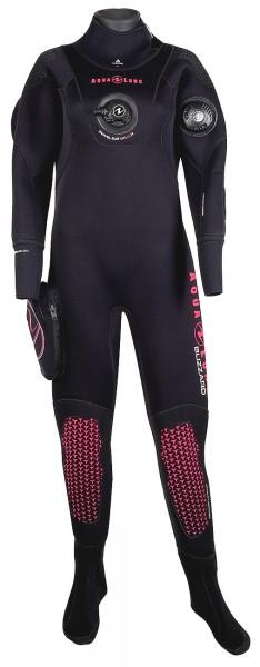 Aqua Lung Blizzard 4mm Komprimierter Neopren Trockentauchanzug Damen Trocken Taucher Anzug-Copy