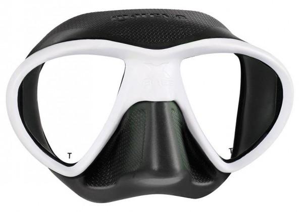 Mares X-Free Apnoe Freitaucher X Free Frei schwarz weiß Maske Tauchmaske Taucher Brille Freitauchen