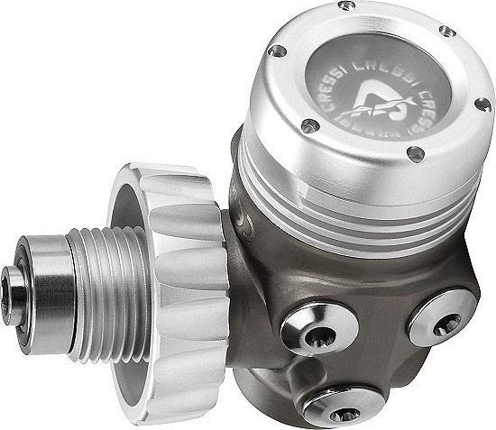 Cressi T10 SC Master erste Stufe Tauchregler Atemregler Taucher Regler Kaltwasser DIN Anschluss